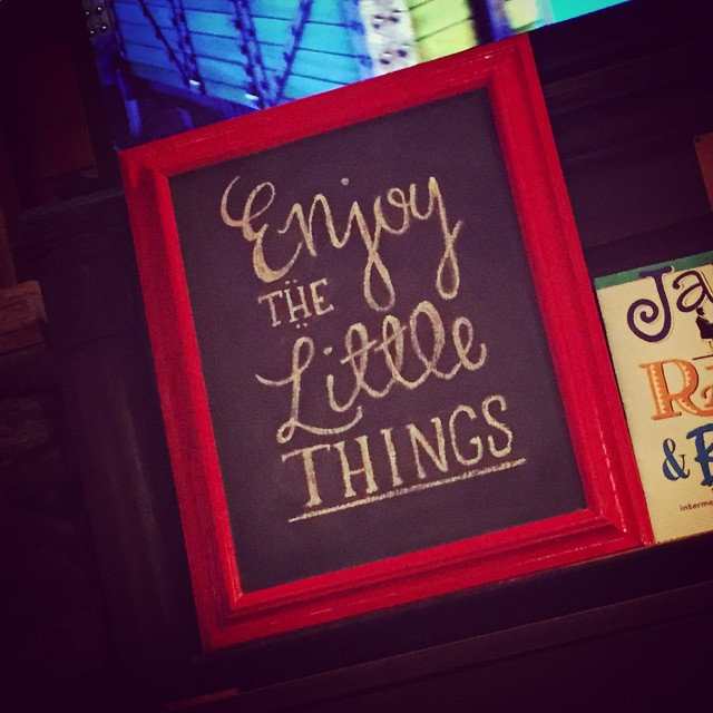 Chalkboard_little things